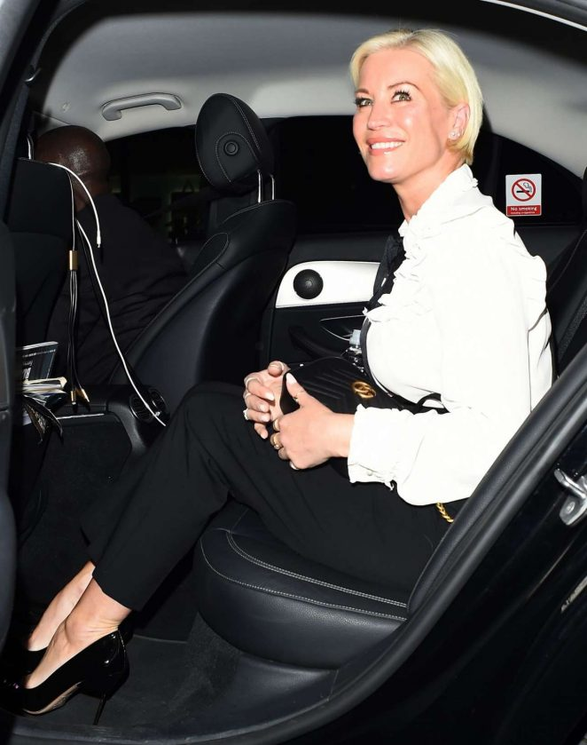 Denise Van Outen – Connor Brothers Call Me Anything But Ordinary Private View In London