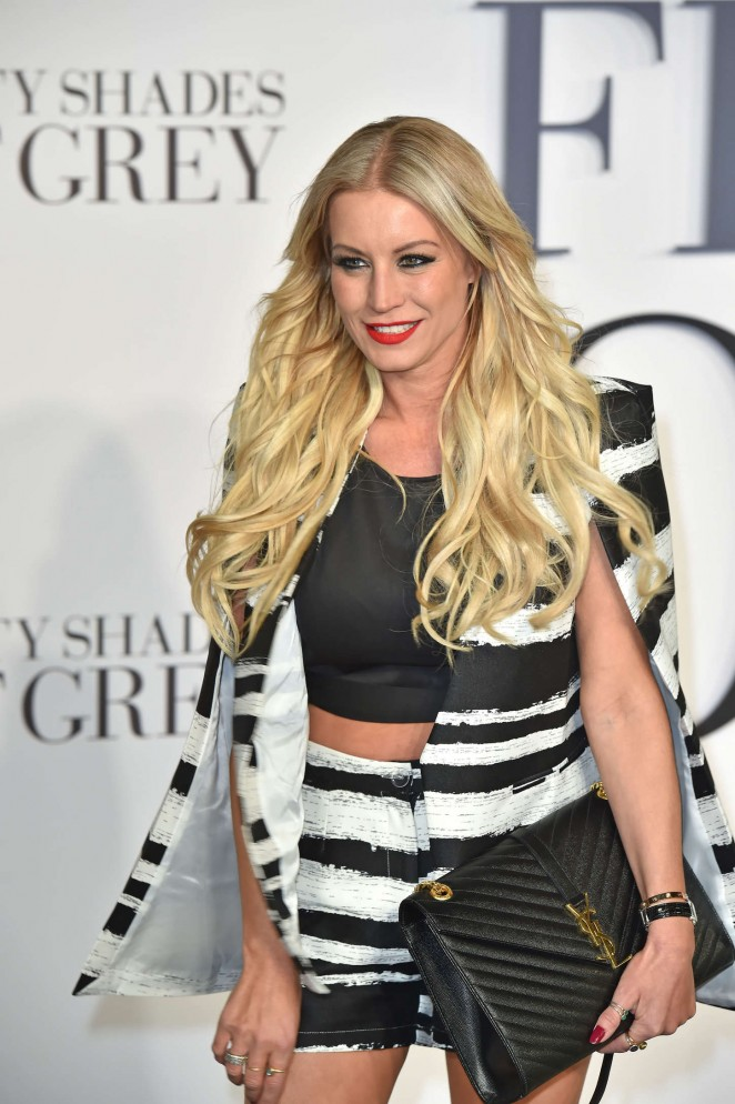 """Denise Van Outen - """"Fifty Shades Of Grey"""" Premiere in London"""