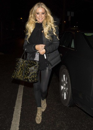 Denise Van Outen - GavAid Quiz Night in London