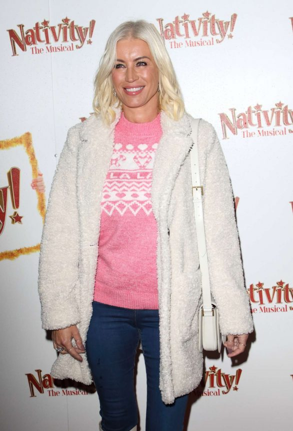 Denise Van Outen - 'Nativity! The Musical' Press Night Performance in London