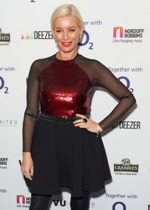 Denise Van Outen - Nordoff Robbins Dinner in London