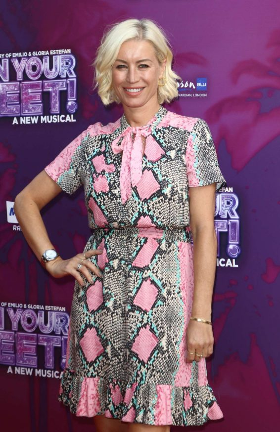 Denise Van Outen - On Your Feet! A New Musical Press Night in London