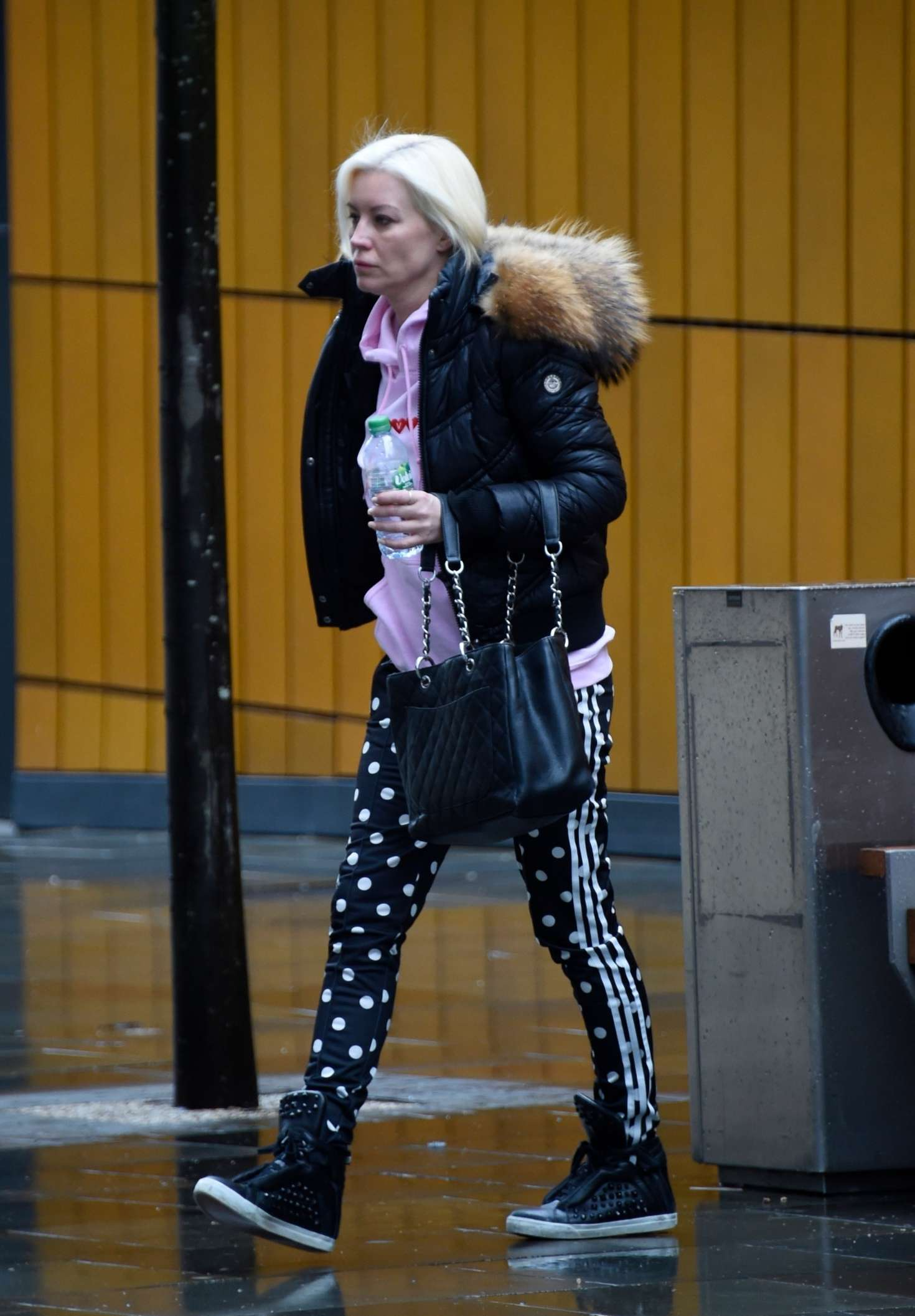 Denise Van Outen - Out and about in Manchester