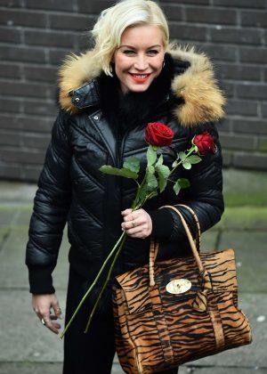 Denise Van Outen - Outside The ITV Studios in London