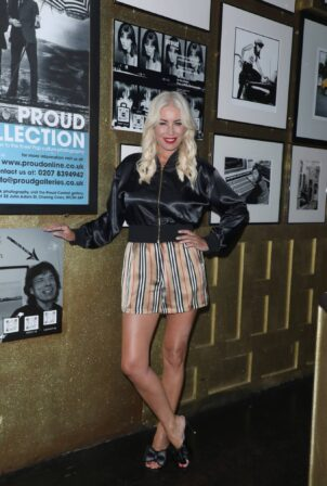 Denise Van Outen - Seen after performing in Cabaret All Stars