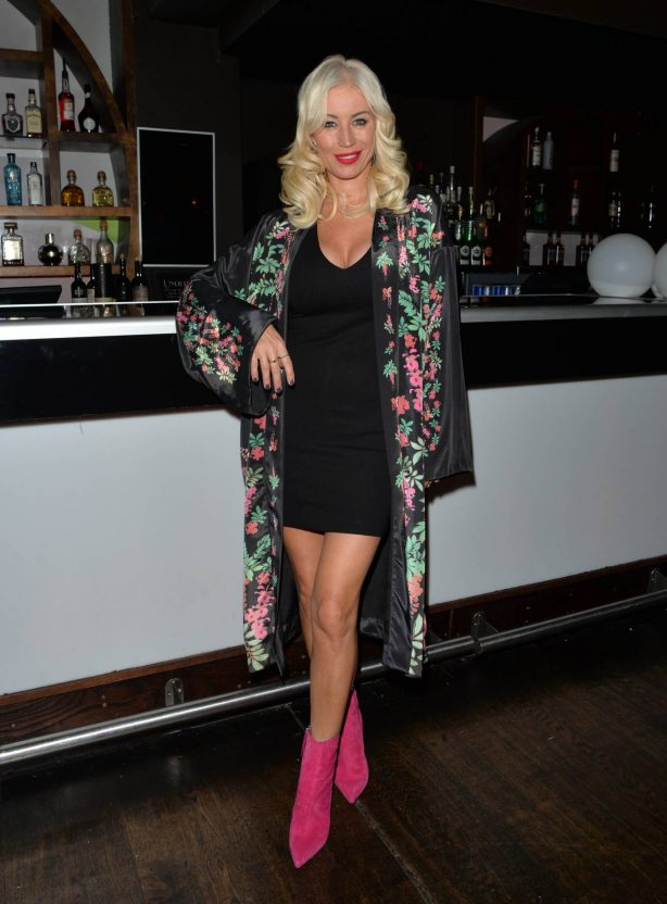 Denise Van Outen - Seen at Proud Embankment Club in London