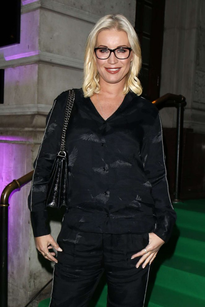 Denise Van Outen - Specsaver's Spectacle Wearer of the Year Awards in London