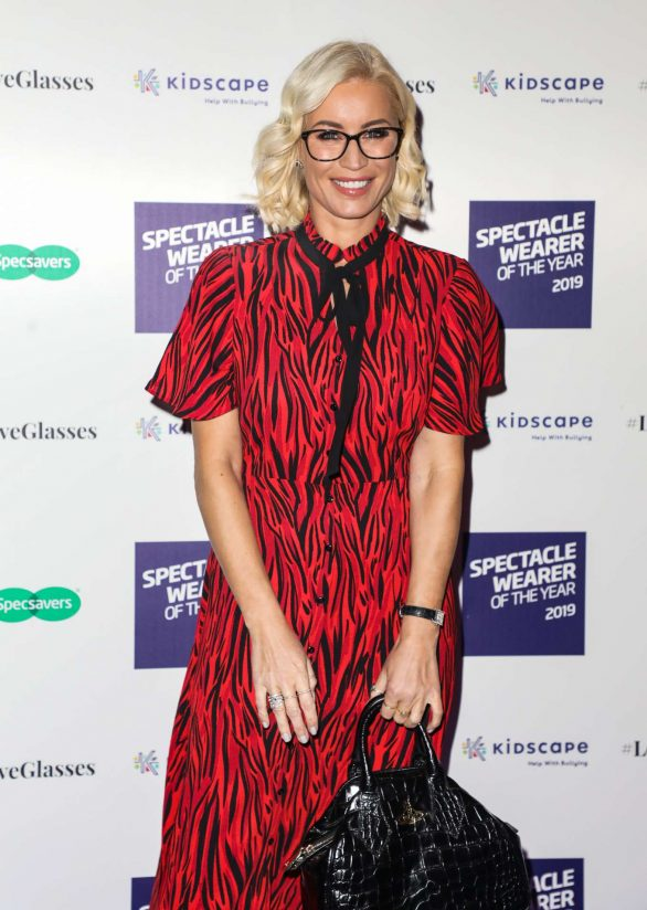 Denise Van Outen 2019 : Denise Van Outen – Specsavers Spectacle Wearer of the Year Awards 2019-01
