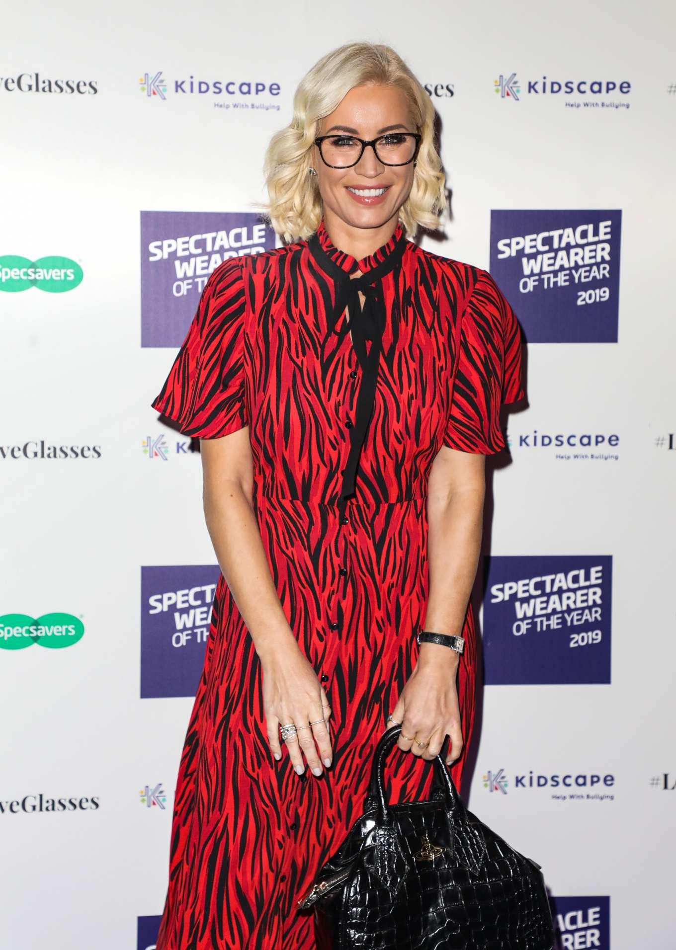 Denise Van Outen 2019 : Denise Van Outen – Specsavers Spectacle Wearer of the Year Awards 2019-01
