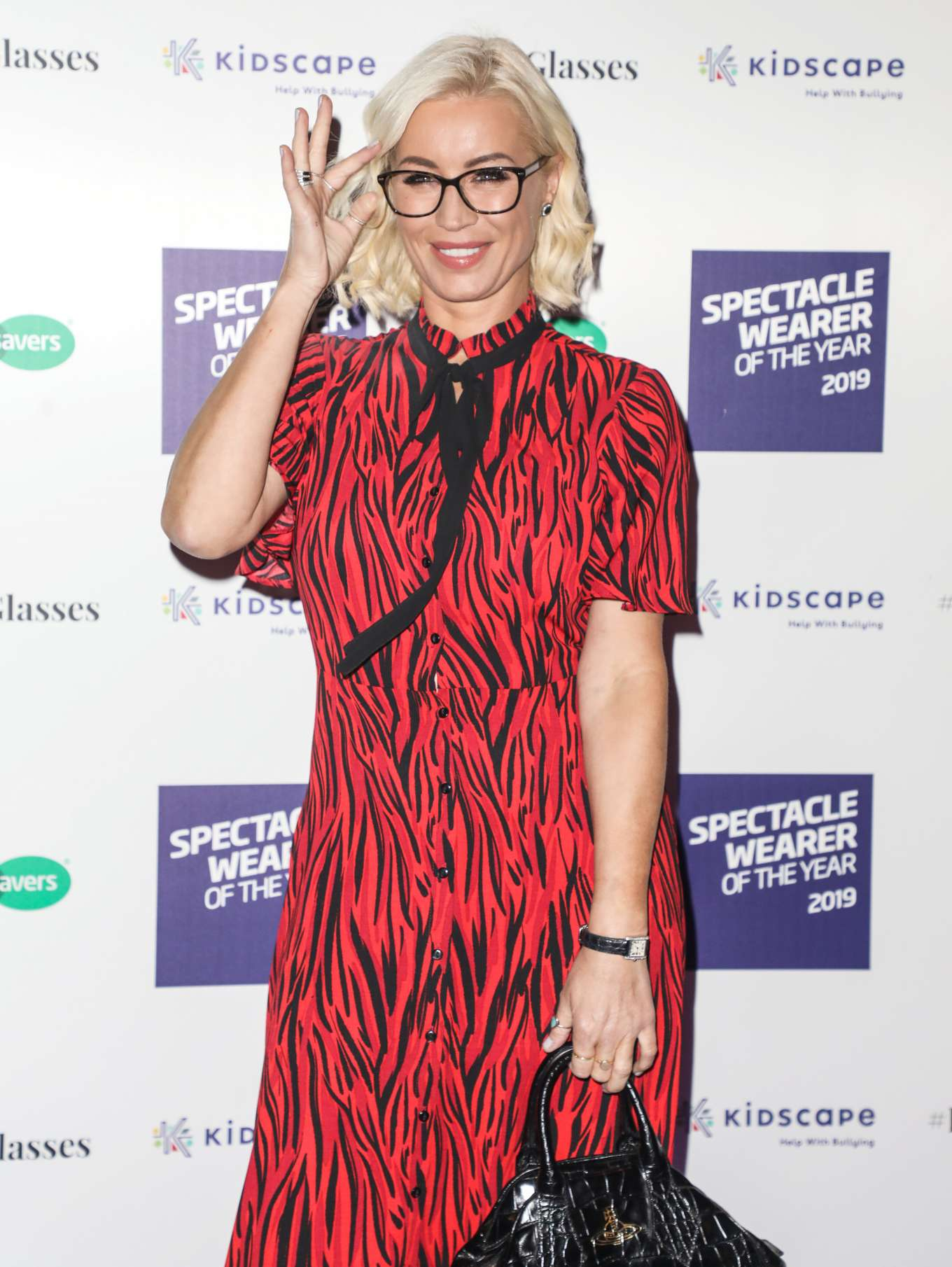 Denise Van Outen 2019 : Denise Van Outen – Specsavers Spectacle Wearer of the Year Awards 2019-02