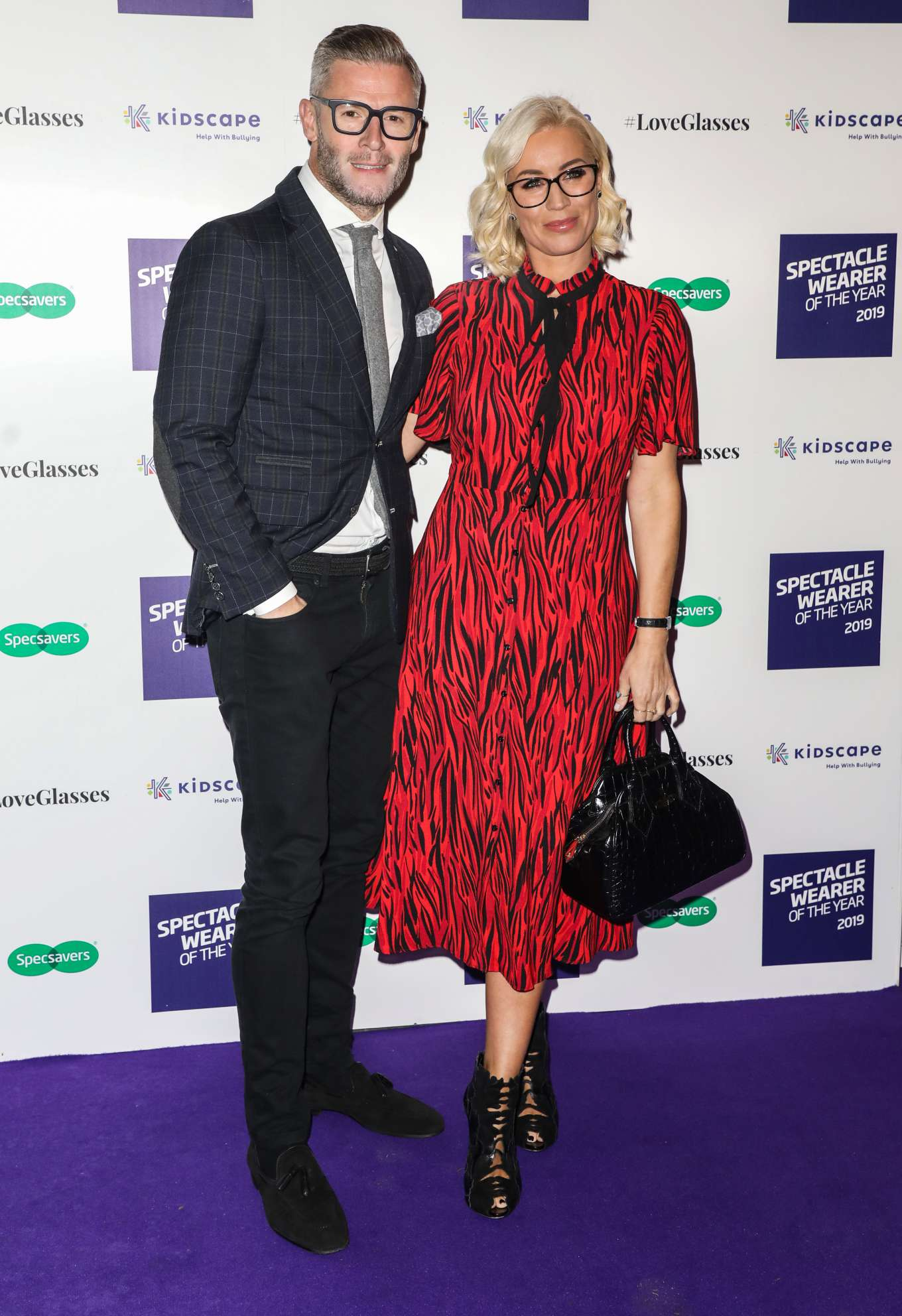 Denise Van Outen 2019 : Denise Van Outen – Specsavers Spectacle Wearer of the Year Awards 2019-06