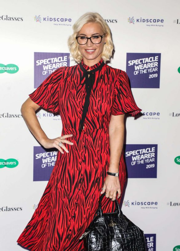 Denise Van Outen - Specsavers Spectacle Wearer of the Year Awards 2019 in London