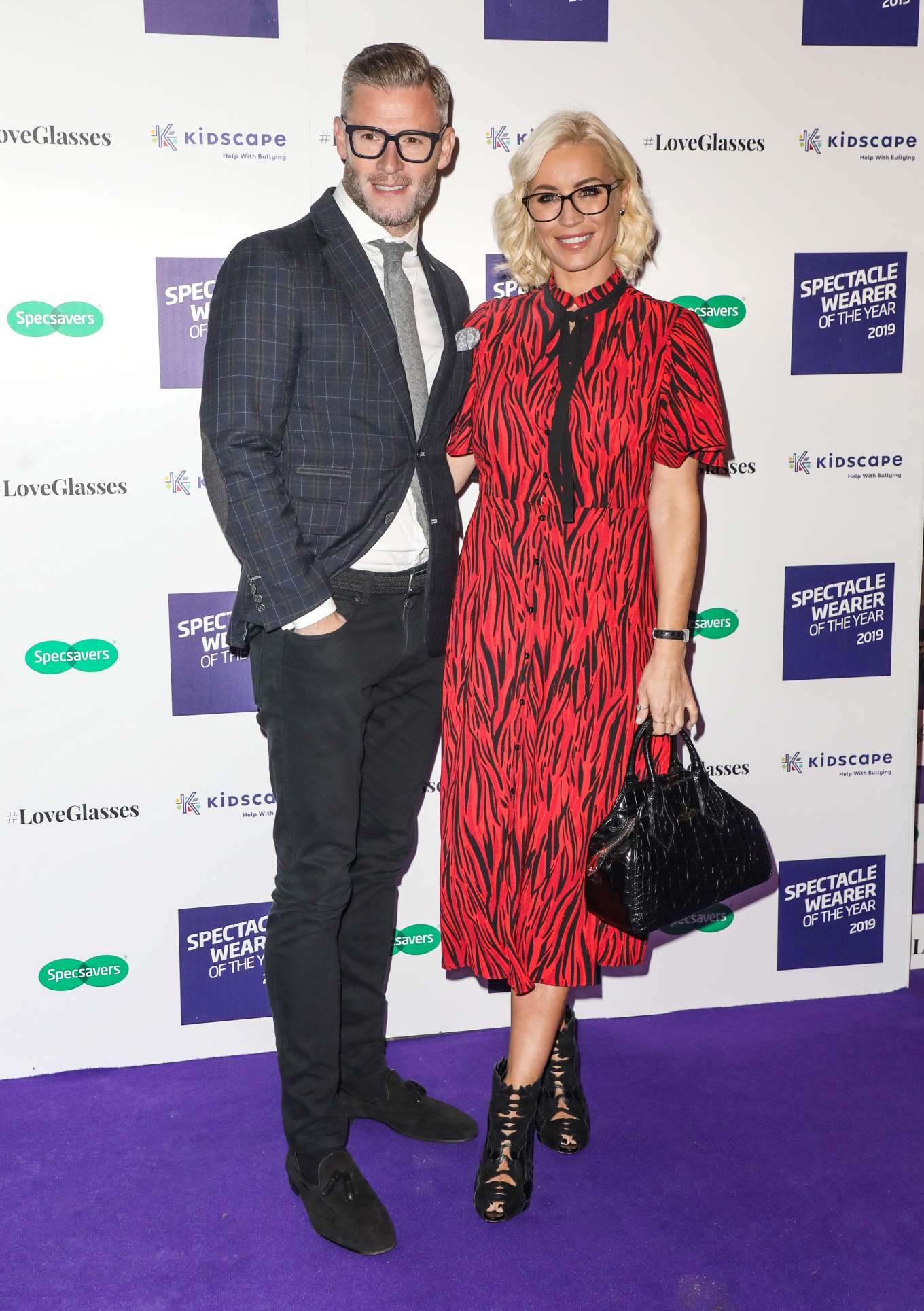 Denise Van Outen 2019 : Denise Van Outen – Specsavers Spectacle Wearer of the Year Awards 2019-14