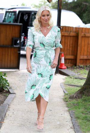 Denise Van Outen - 'The Only Way is Essex' TV show set
