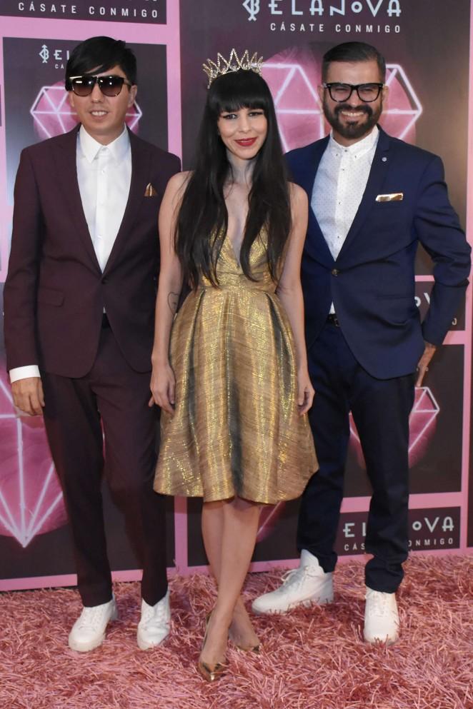 Denisse Guerrero - Casate Conmigo Album Launch Photocall in Mexico