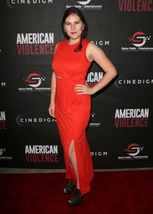 Deva Nitins - 'American Violence' Premiere in Hollywood