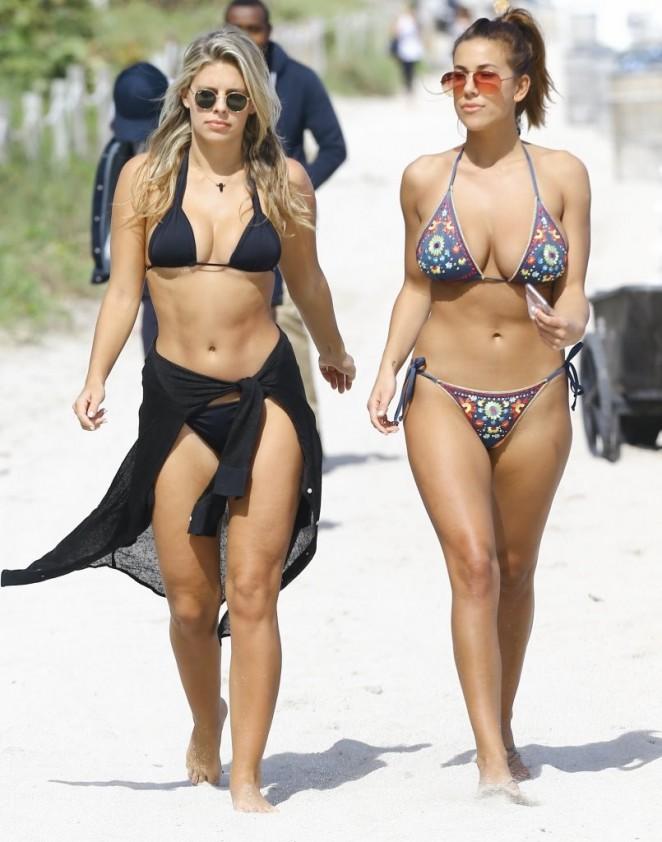 Devin Brugman and Natasha Oakley in Bikinis -03