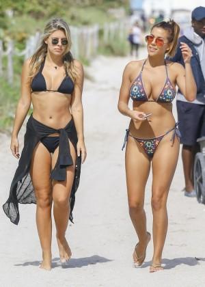 Devin Brugman and Natasha Oakley in Bikinis -05