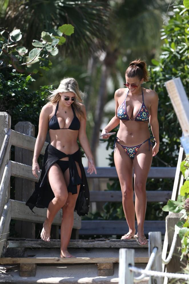 Devin Brugman and Natasha Oakley in Bikinis -14