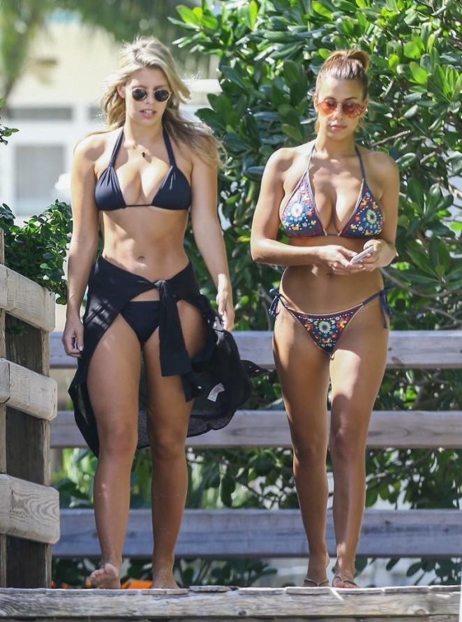 Devin Brugman and Natasha Oakley in Bikinis -21