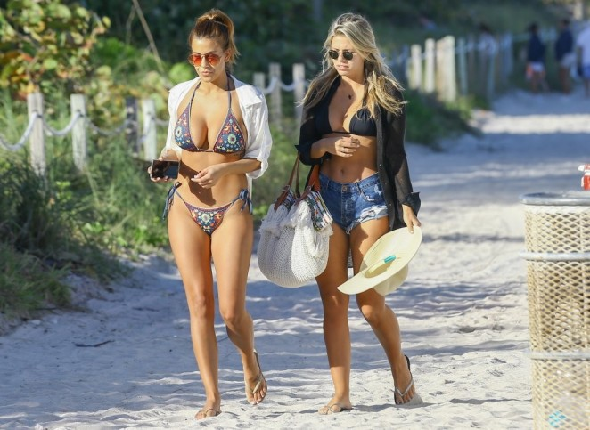 Natasha Oakley 2016 : Devin Brugman and Natasha Oakley in Bikinis -25