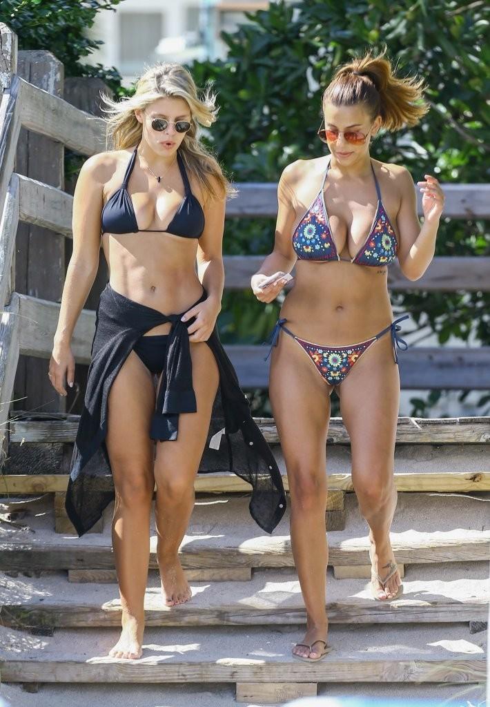 Natasha Oakley 2016 : Devin Brugman and Natasha Oakley in Bikinis -26