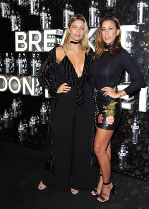 Devin Brugman and Natasha Oakley - Svedka Vodka's Broken Resolutions Bash in LA