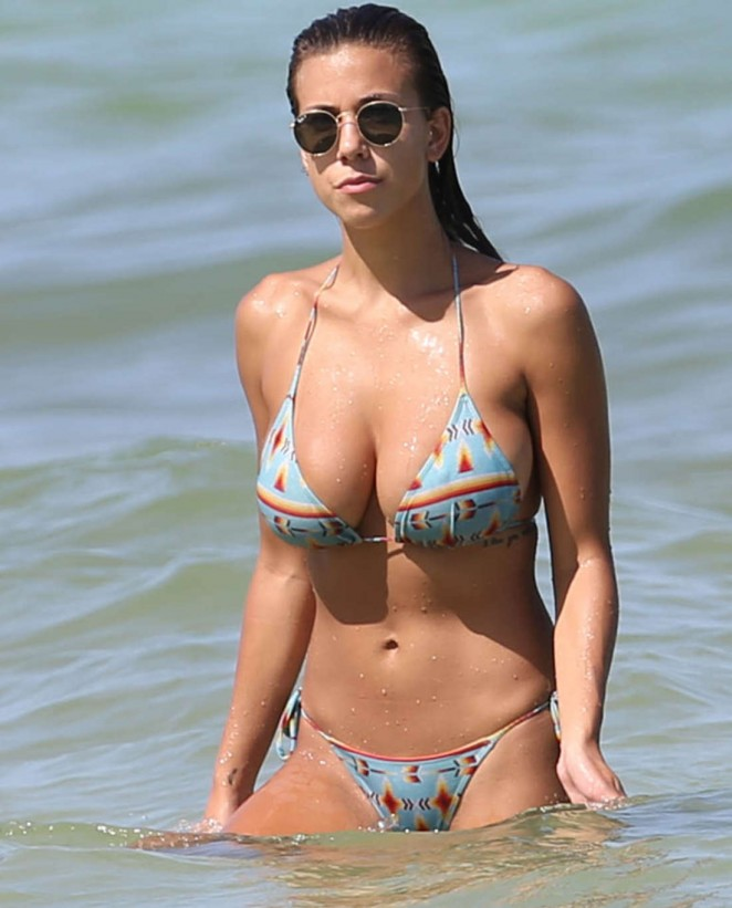 Devin Brugman in Bikini in Miami