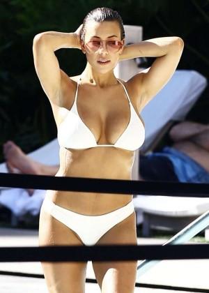 Devin Brugman in White Bikini -02