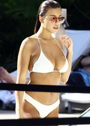 Devin Brugman in White Bikini -08