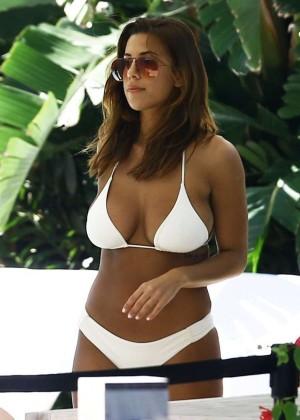 Devin Brugman in White Bikini -12