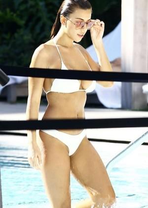 Devin Brugman in White Bikini -15
