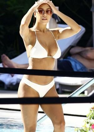 Devin Brugman in White Bikini -19