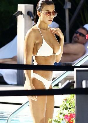 Devin Brugman in White Bikini -21