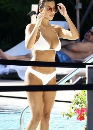 Devin Brugman in White Bikini -22