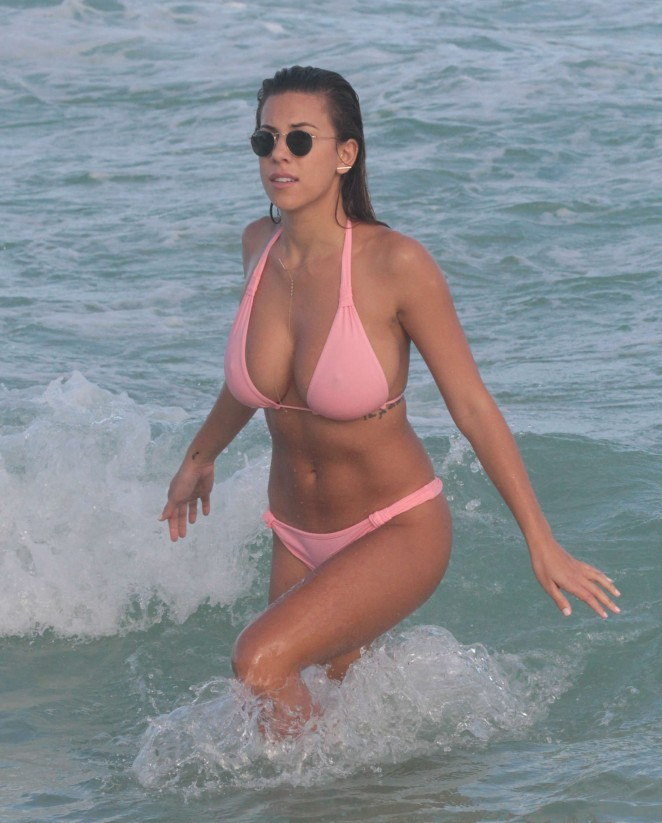 Devin Brugman: Hot in Pink Bikini -04
