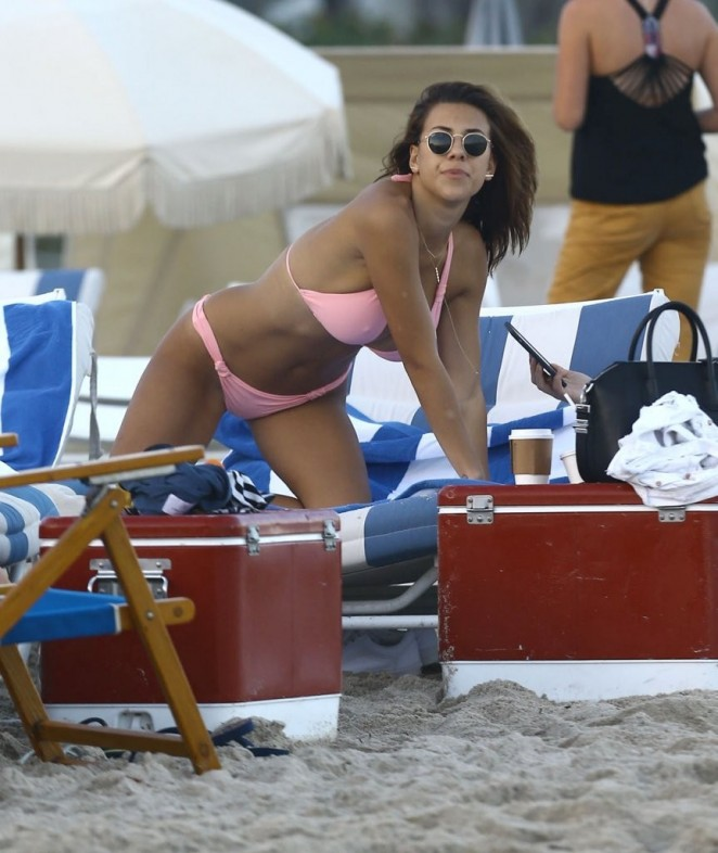 Devin Brugman: Hot in Pink Bikini -29