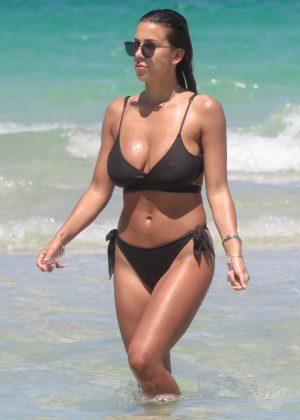 Devin Brugman in Bikini on Miami Beach