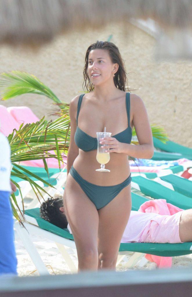 Devin Brugman in Bikini on the beach in Cancun
