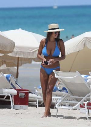 Devin Brugman in Blue Bikini -14