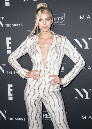 Devon Windsor - E!, ELLE & IMG celebrate the Kick-Off To NYFW: The Shows at The Pool in NYC
