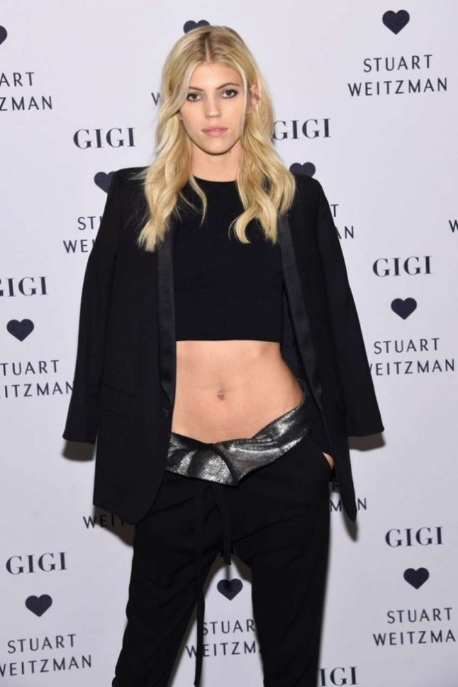Devon Windsor - Stuart Weitzman's Launch to promote Gigi Boot in NYC