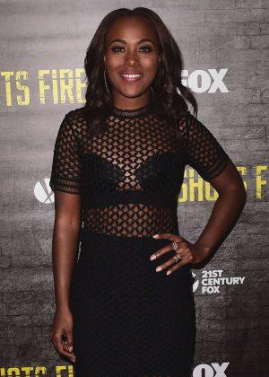DeWanda Wise - 'Shots Fired' TV Series Premiere in Los Angeles