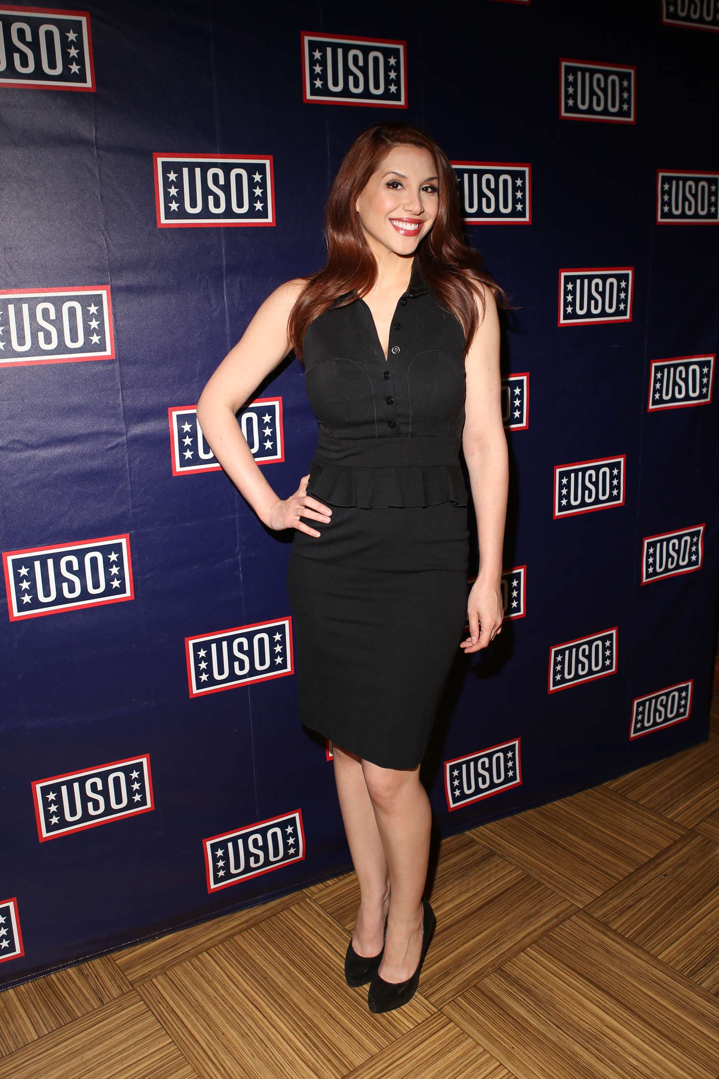 Diana Falzone - USO and Hard Rock Cafe Fleet Week in New York