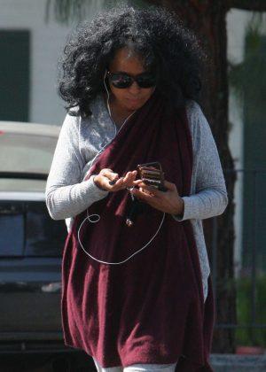 Diana Ross at Bristol Farms in LA