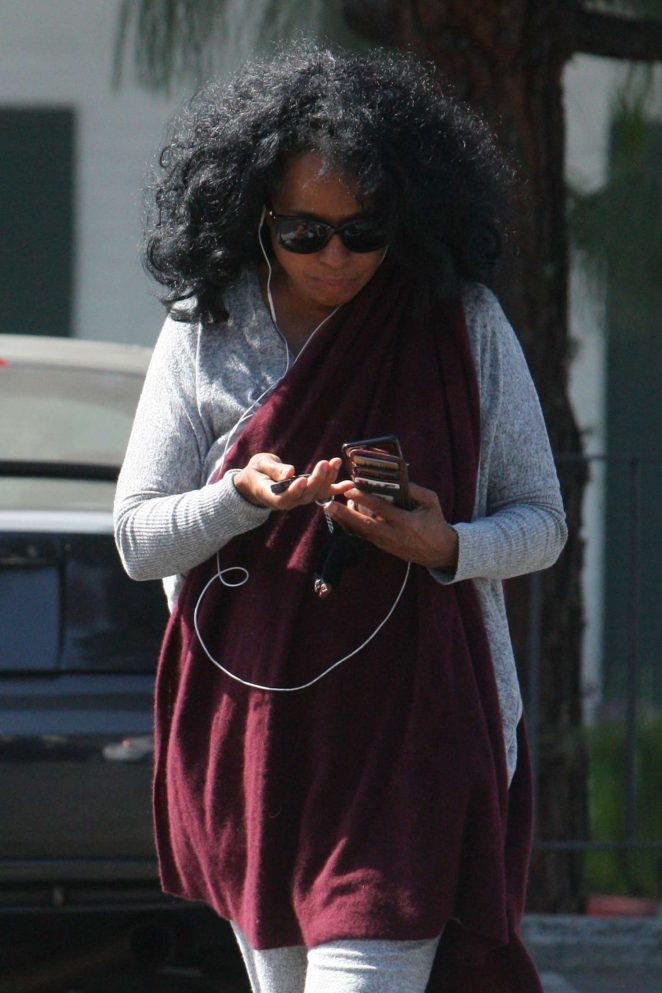 Diana Ross at Bristol Farms in LA