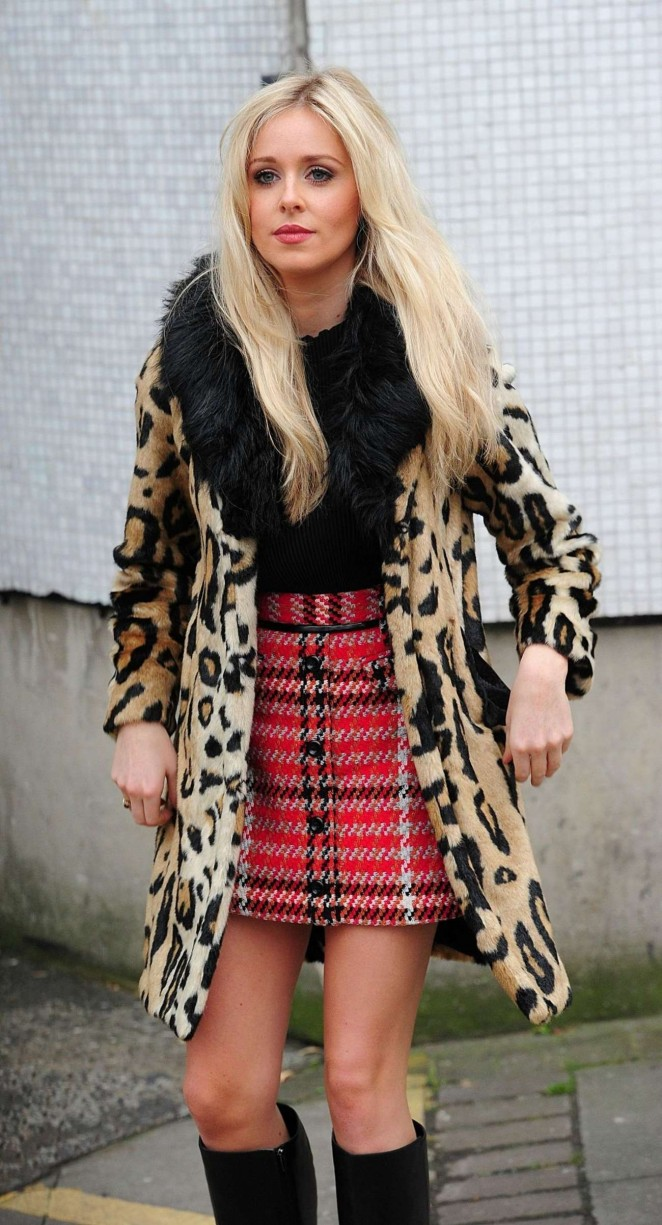 Diana Vickers at Lorraine TV Programme in London