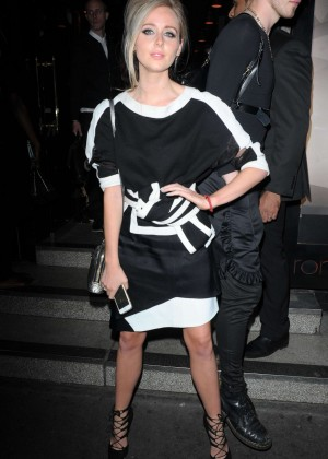 Diana Vickers - Tateossian and David Furnish party during The London Collections Men SS16 in London
