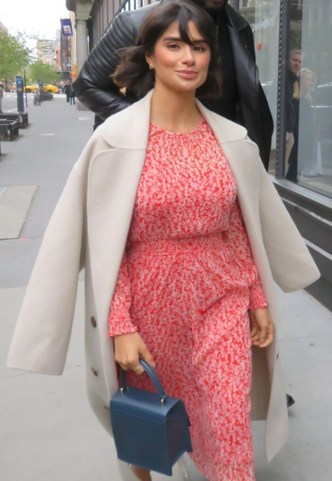 Diane Guerrero - Arrives at AOL Build Studio in New York City