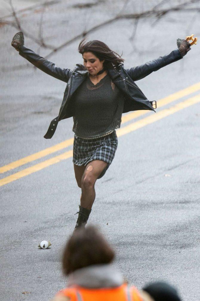 Diane Guerrero: On set for Doom Patrol -06